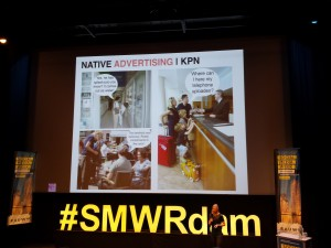 KPN, Upcoming, Native, Native advertising
