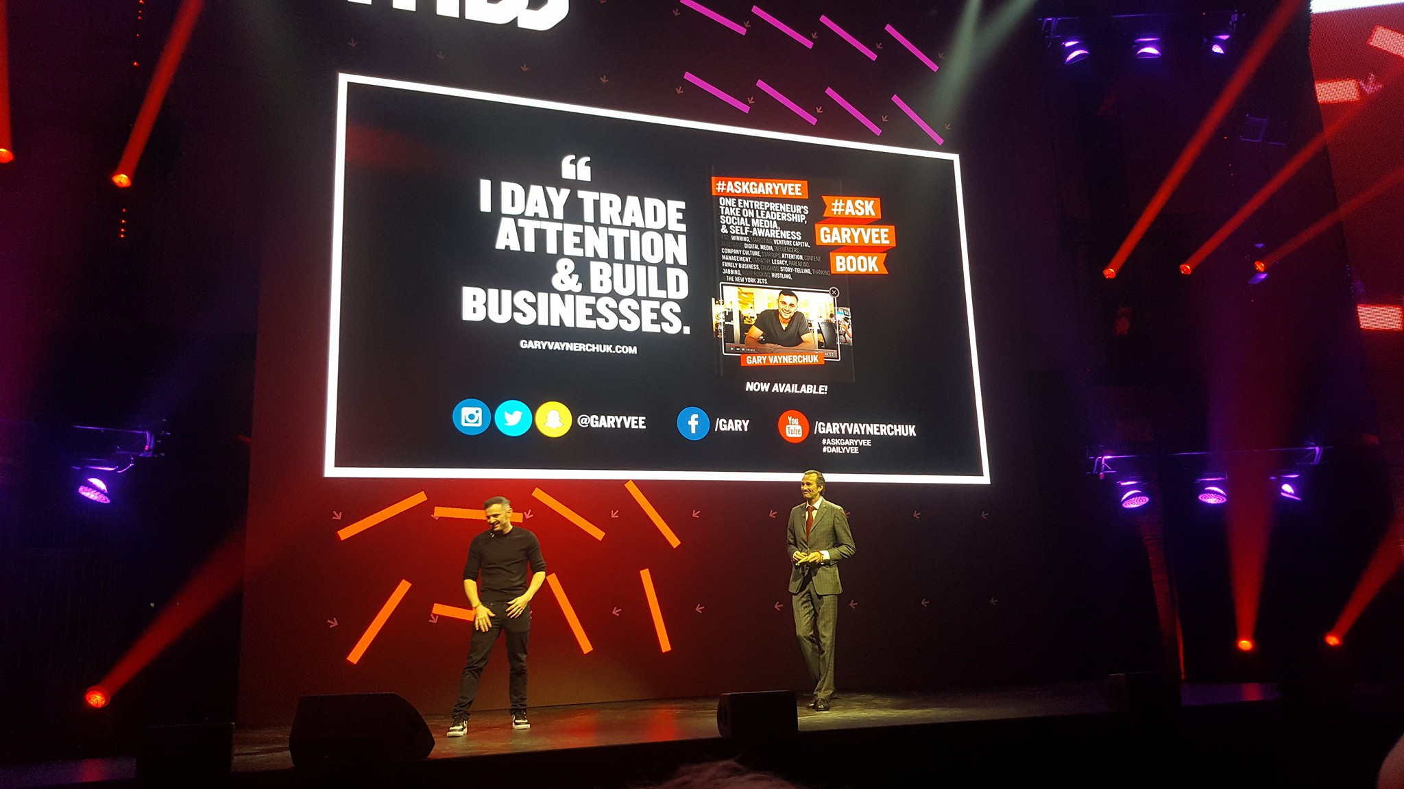 Gary Vaynerchuk - The Next Web Conference 2016 Amsterdam - Foto Sander Van der Maelen