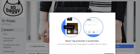 Social Commerce: Producten taggen in Facebook updates