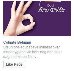 voorbeeld facebook advertentie