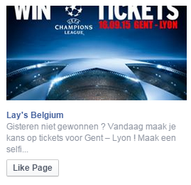 lays facebook advertentie