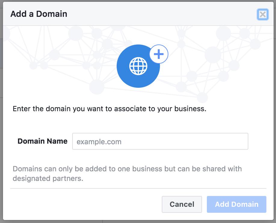 Vul je domeinnaam in, http of www hoeft niet