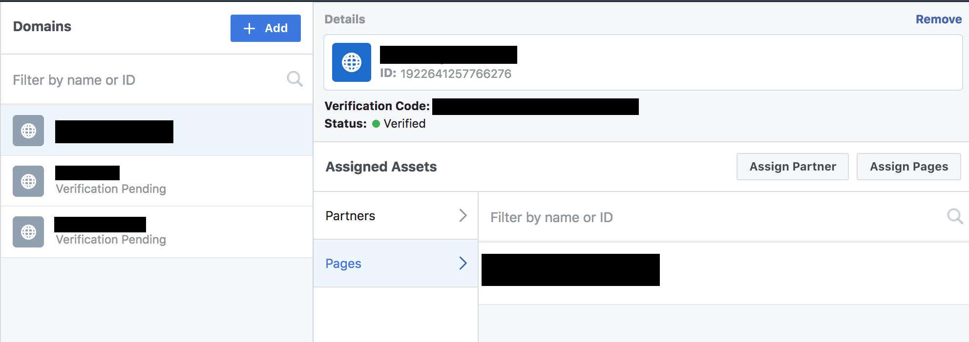 Klik op assign pages