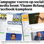 Vlaams Belang Facebook-kampioen